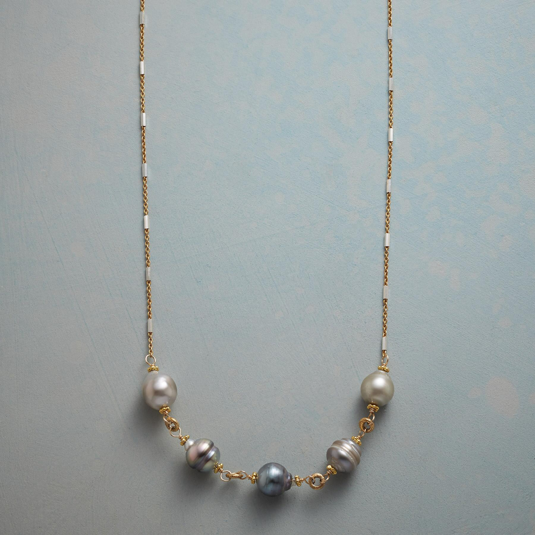 OCEAN REFLECTIONS PEARL NECKLACE: View 1