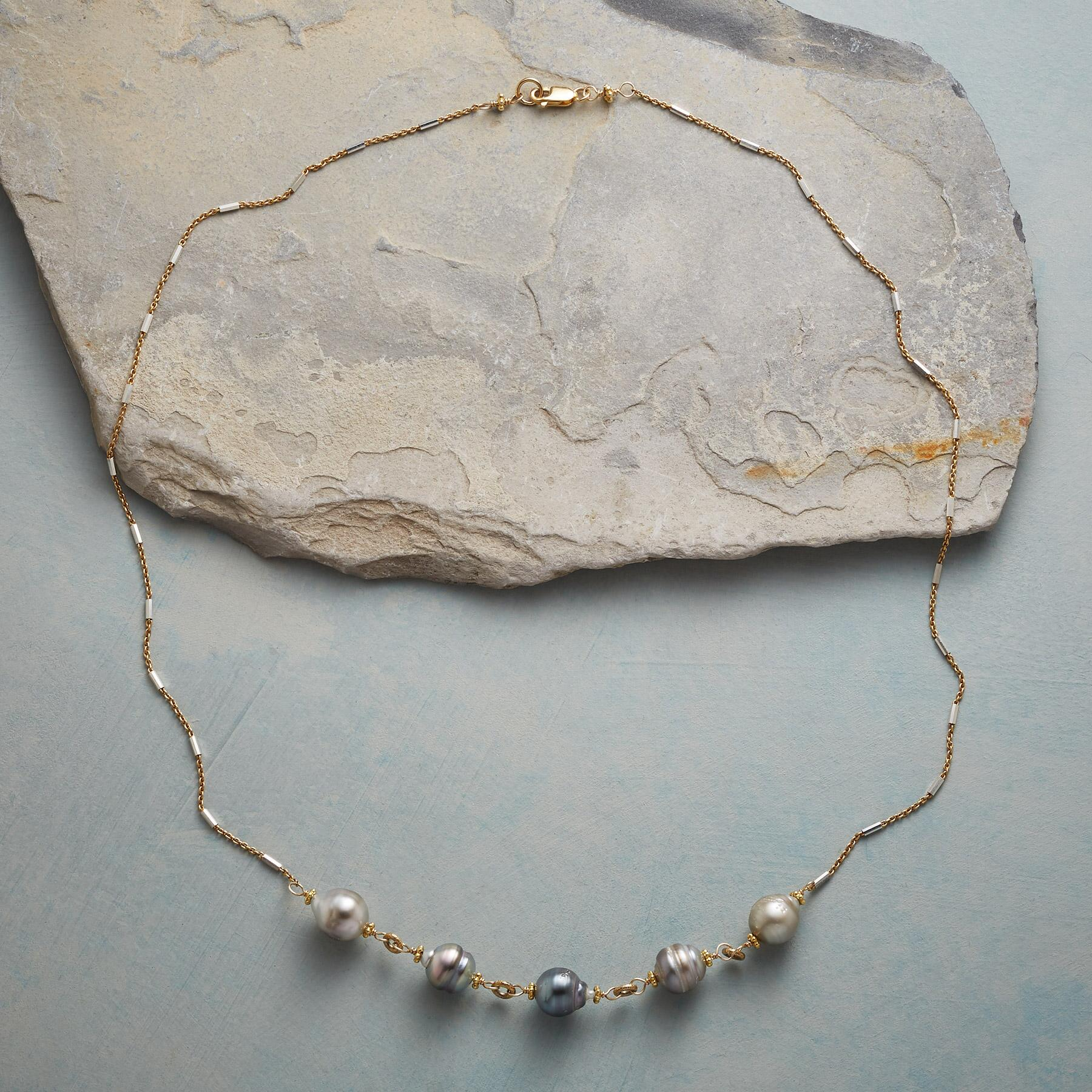 OCEAN REFLECTIONS PEARL NECKLACE: View 2