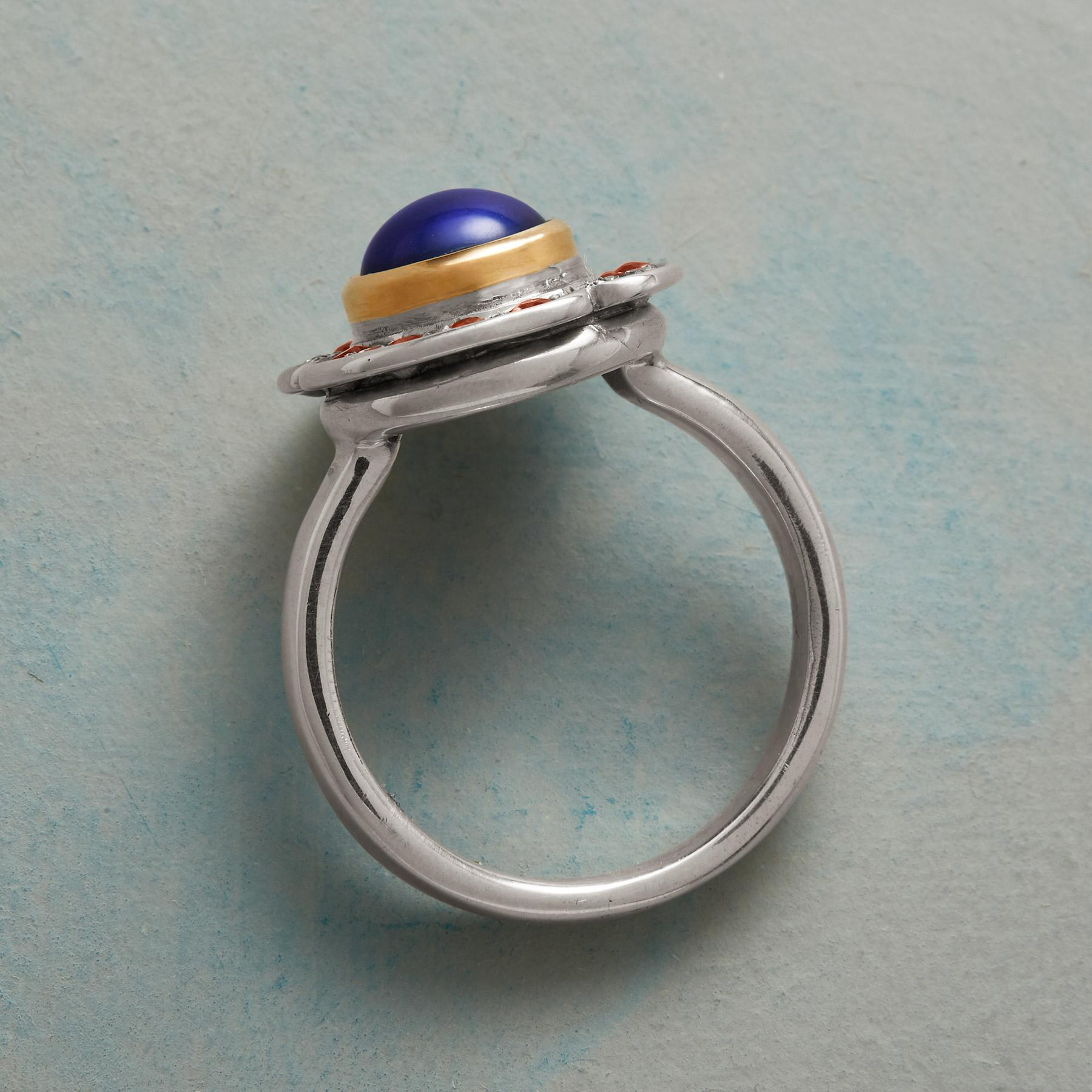 AZURE PEARL COCKTAIL RING: View 2