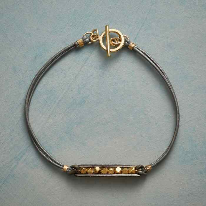 LUXE AND LEATHER BRACELET