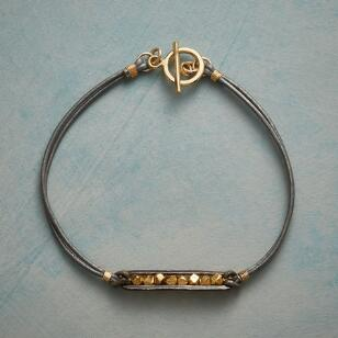 LUXE & LEATHER BRACELET