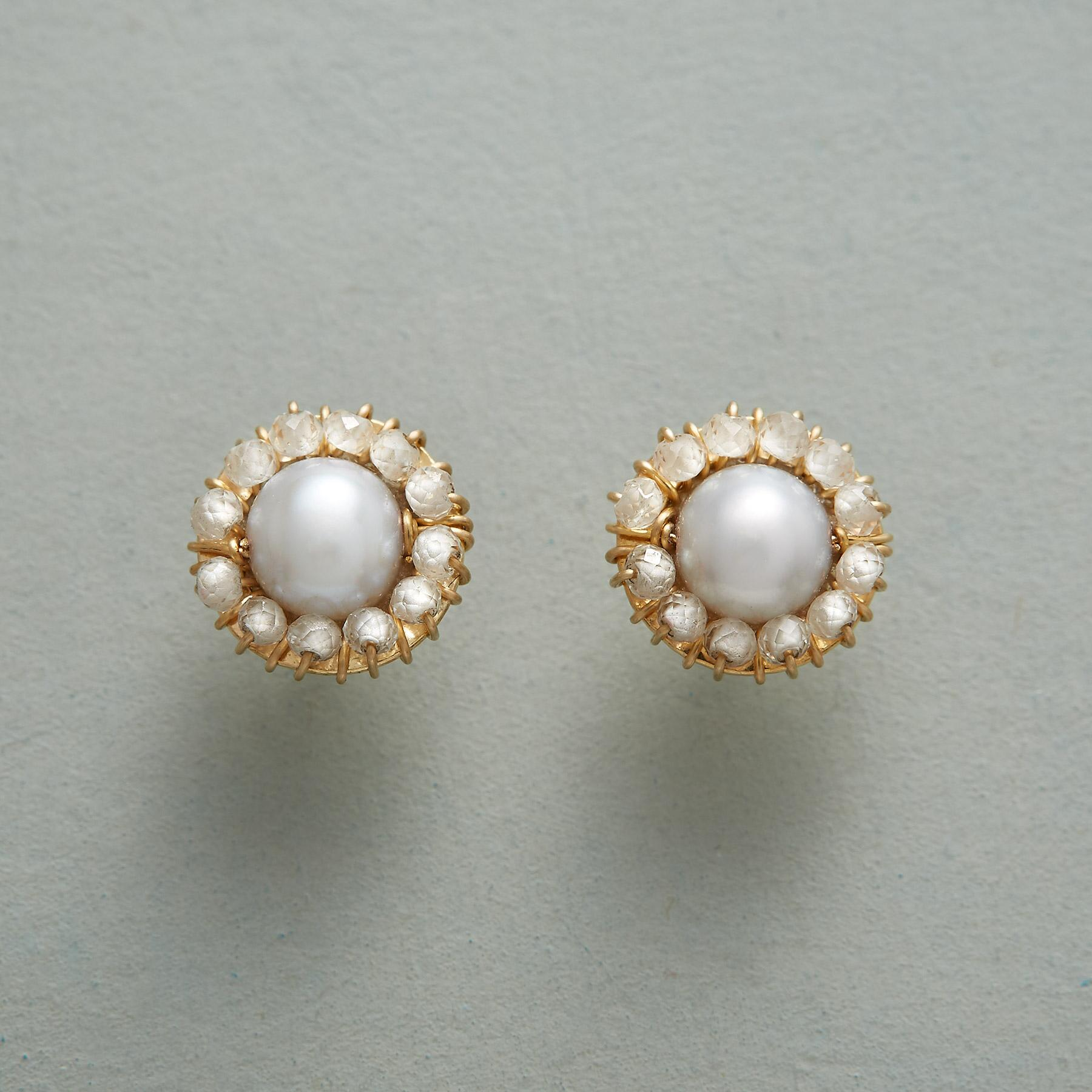 PEARL PROMENADE EARRINGS: View 1