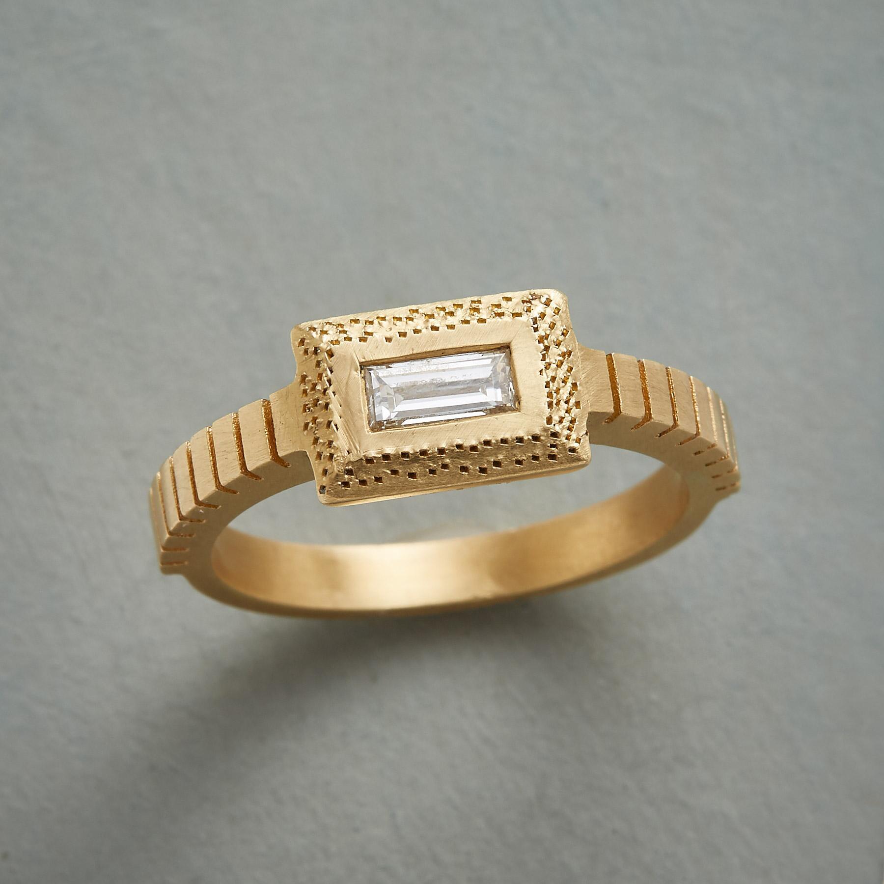 UP A NOTCH DIAMOND RING: View 1