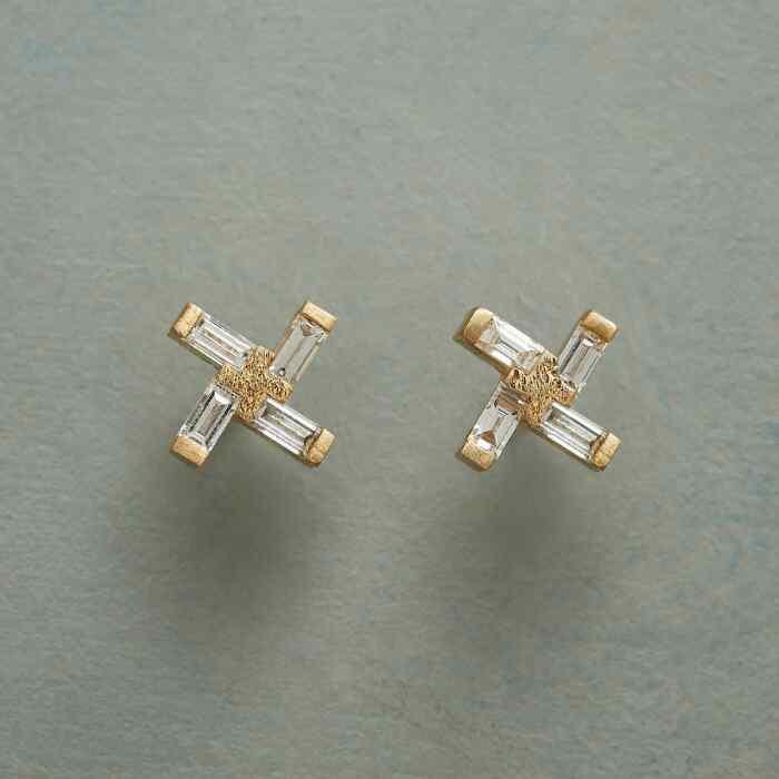 DIAMOND WINDMILL EARRINGS