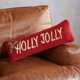 HOLLY JOLLY BOLSTER