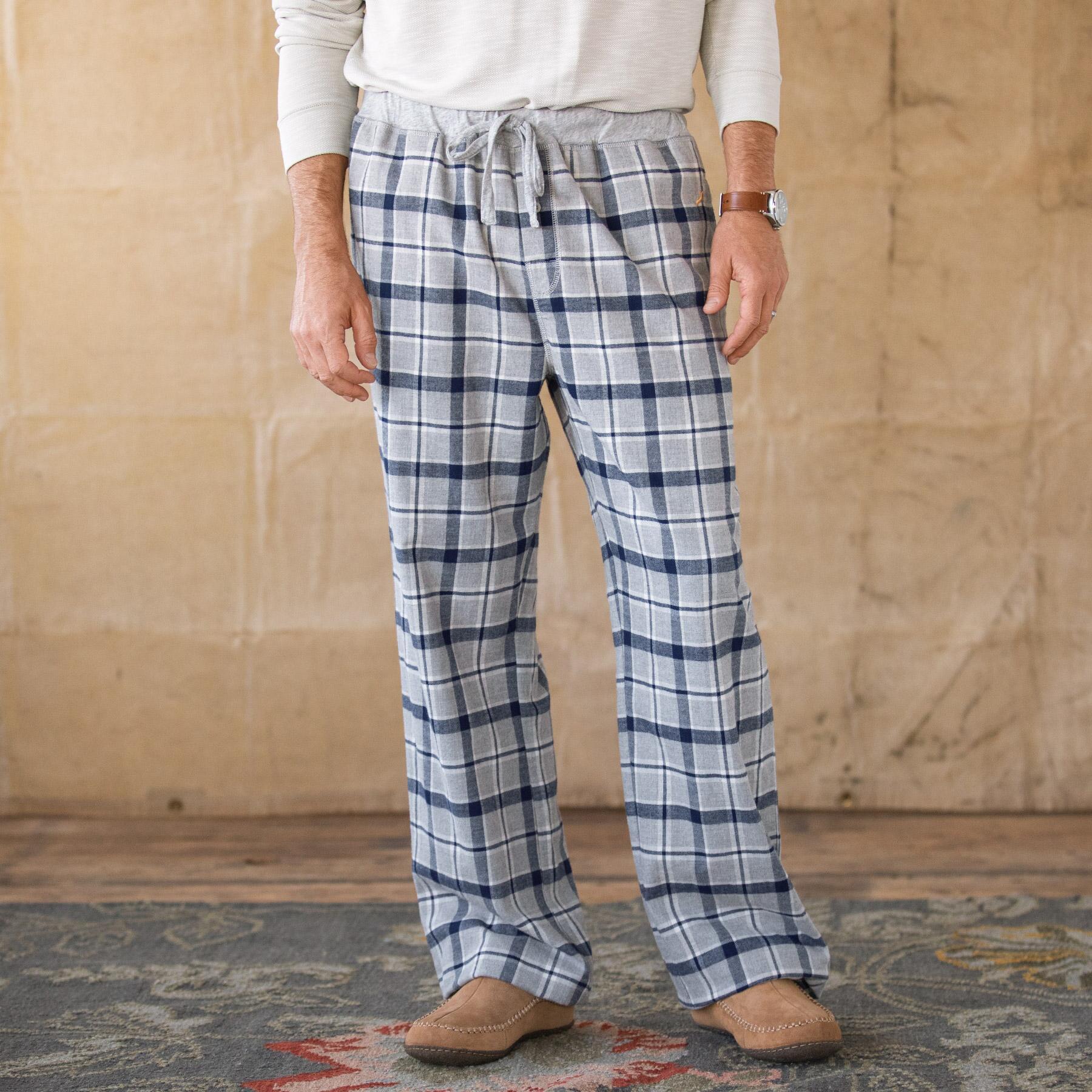 NATHANIEL PLAID LOUNGE PANTS: View 1