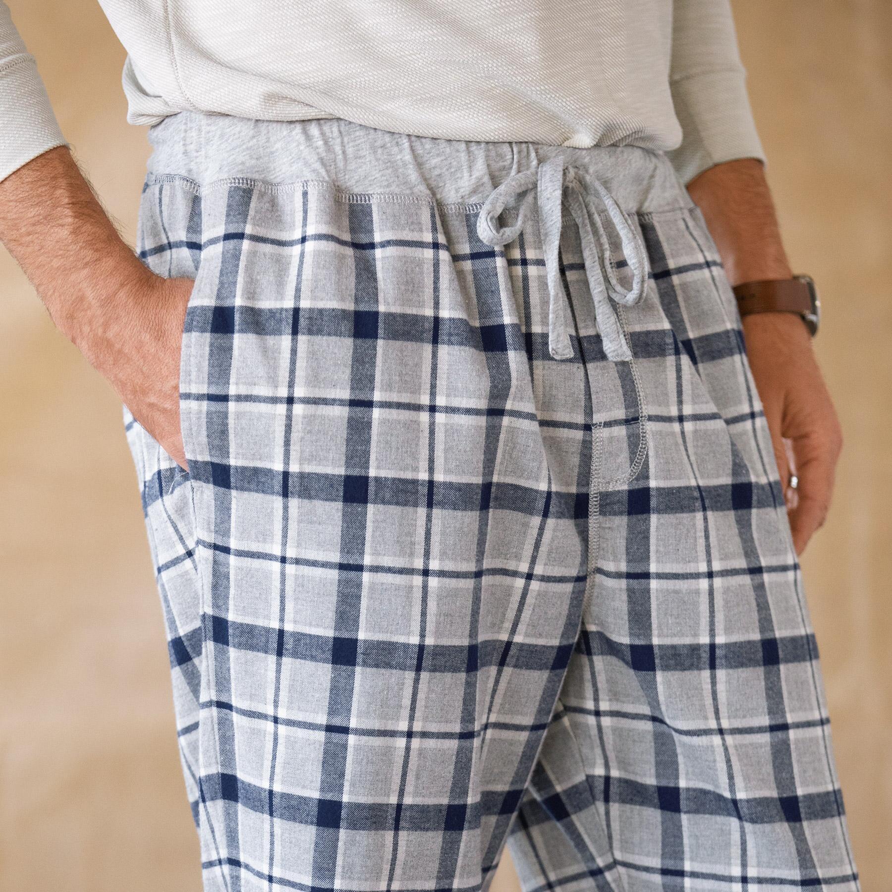 NATHANIEL PLAID LOUNGE PANTS: View 3