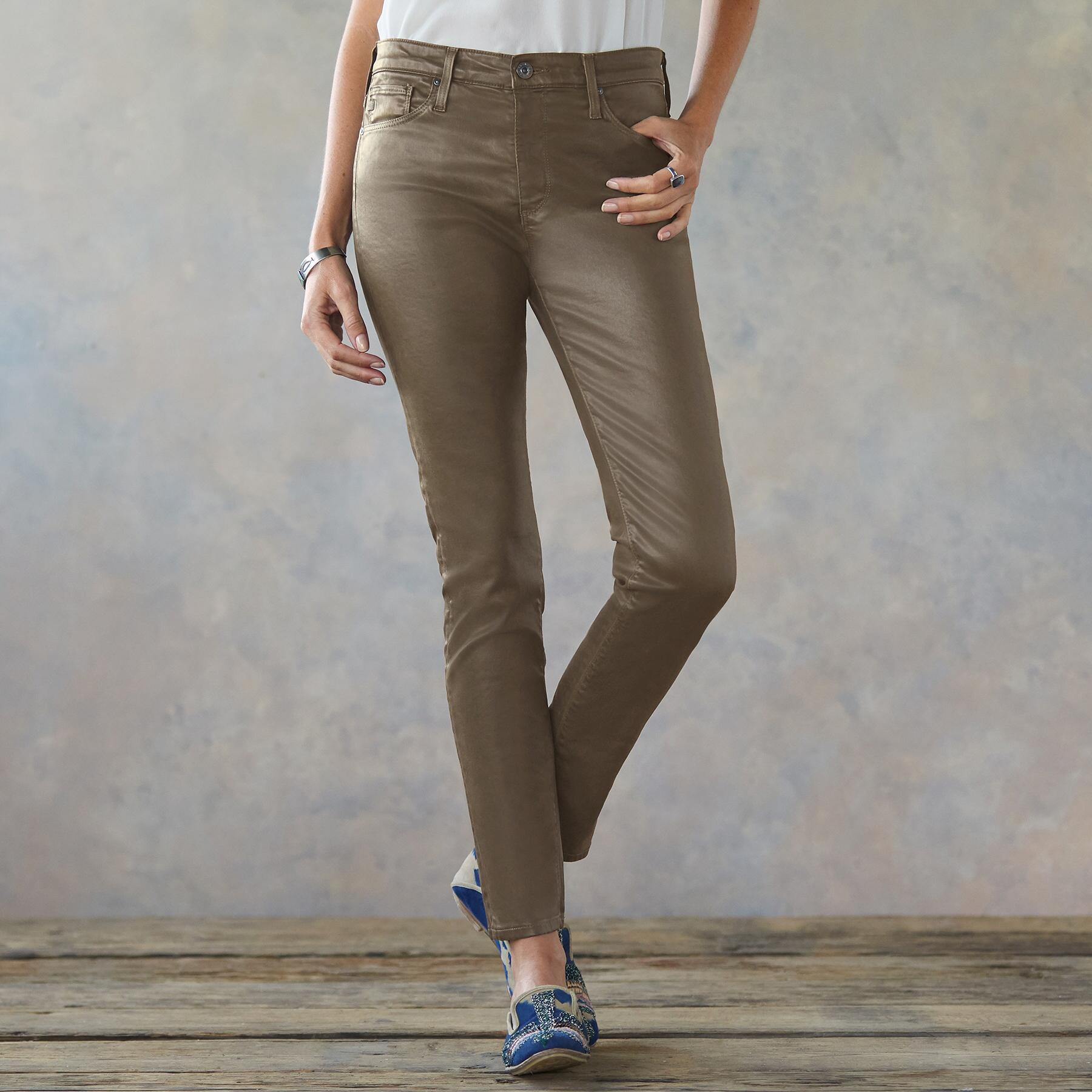 FARRAH SKINNY ANKLE JEANS: View 1