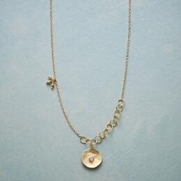 CUPPA CHAMPAGNE DIAMOND NECKLACE
