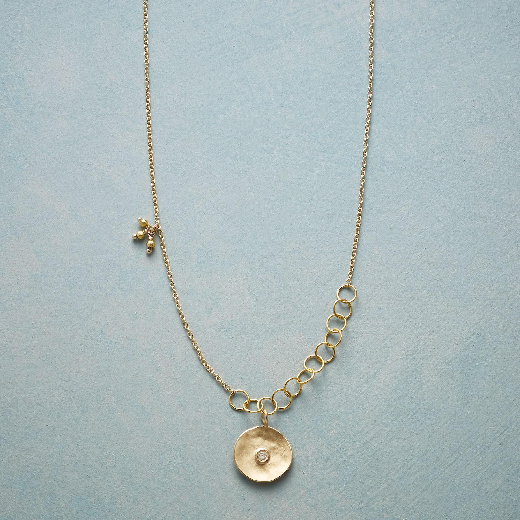 CUPPA CHAMPAGNE DIAMOND NECKLACE: View 1