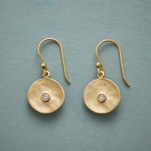 CUPPA CHAMPAGNE DIAMOND EARRINGS