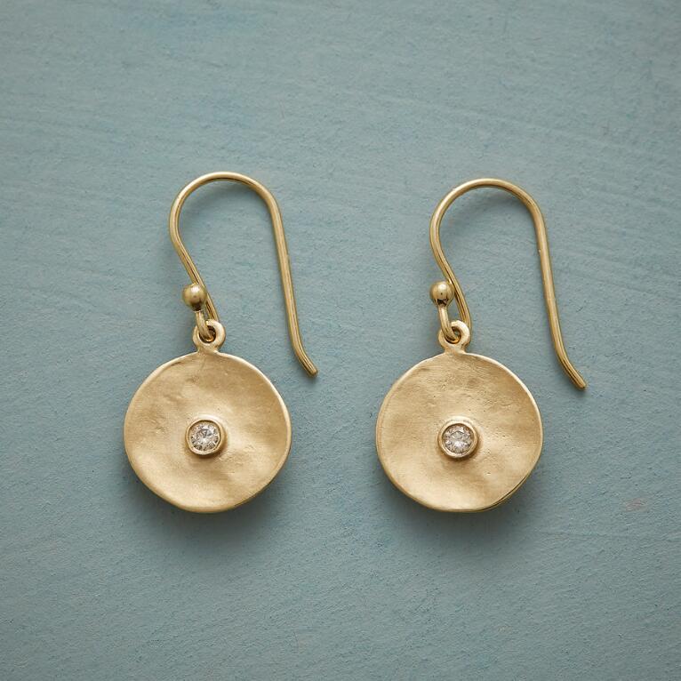 CUPPA CHAMPAGNE DIAMOND EARRINGS