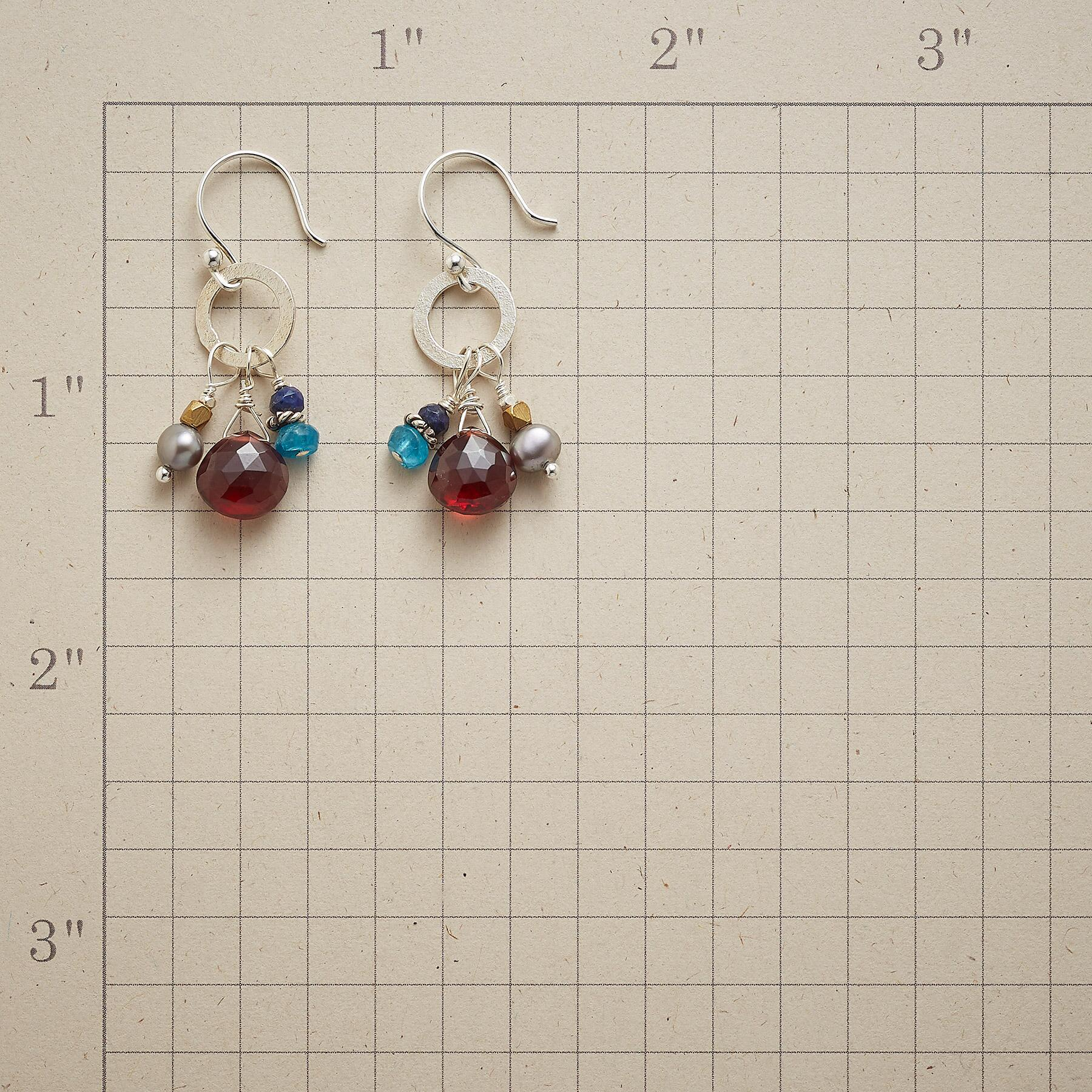 MAROONED AT MIDNIGHT EARRINGS: View 2