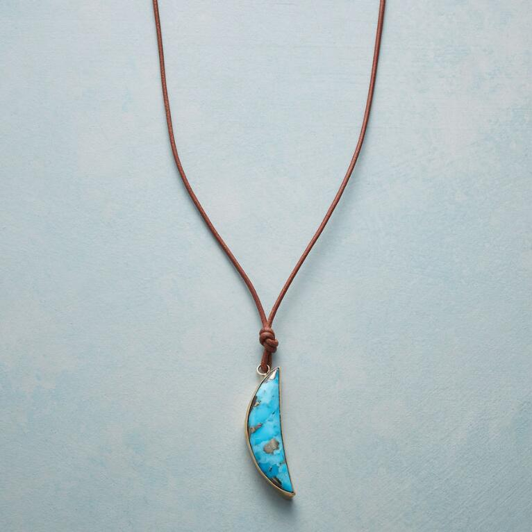 ONCE IN A TURQUOISE MOON NECKLACE