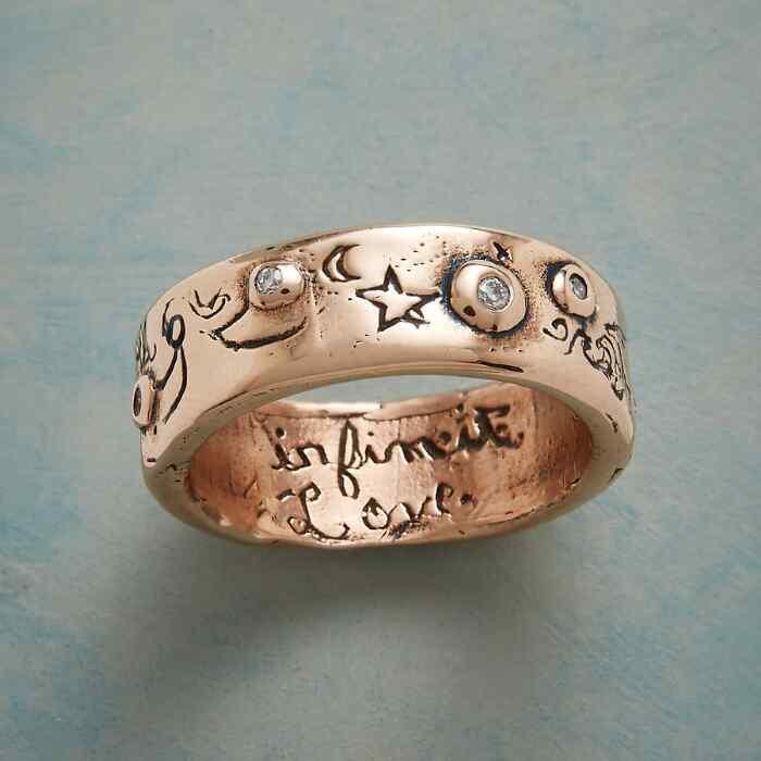 ROSE GOLD INFINITE LOVE RING