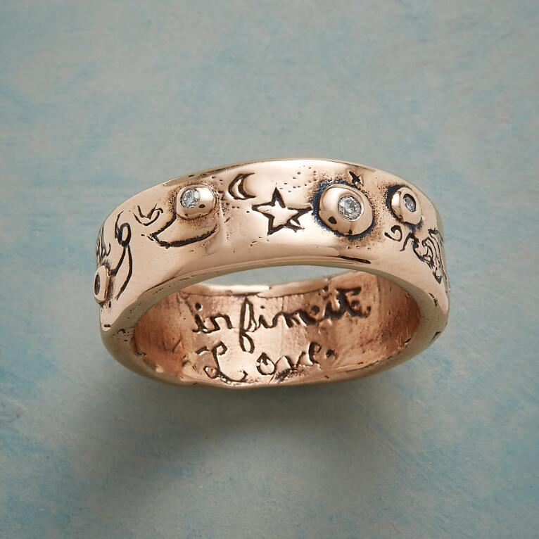 ROSE GOLD INFINITE LOVE RING