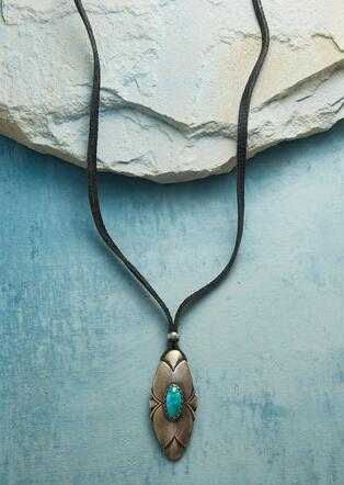 HONOR & PROTECT TURQUOISE NECKLACE