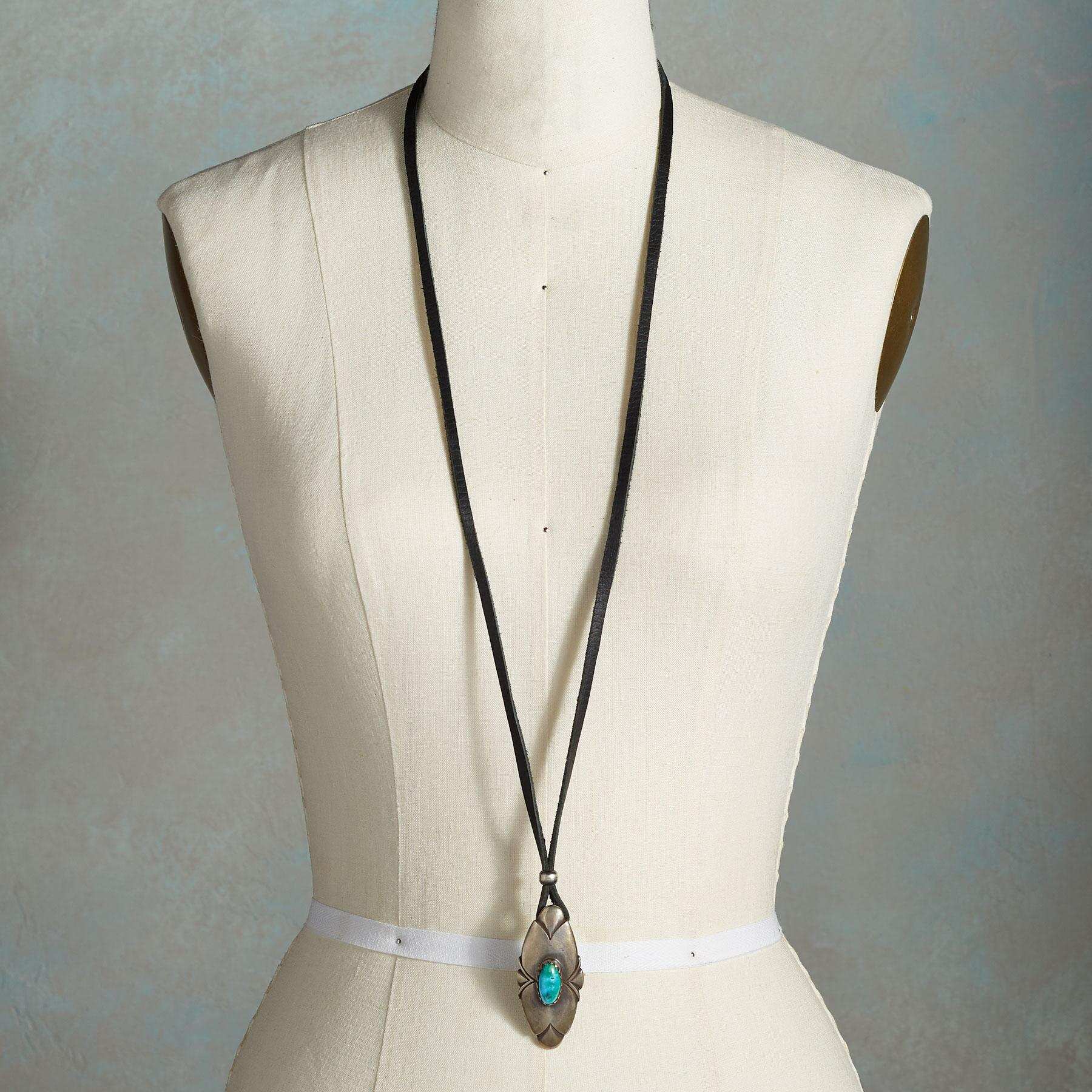 HONOR & PROTECT TURQUOISE NECKLACE: View 4