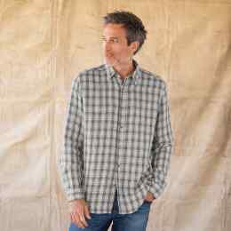 LEROY PLAID SHIRT - GRAY
