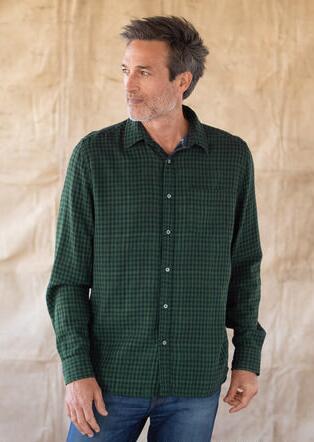 LEROY GREEN PLAID SHIRT
