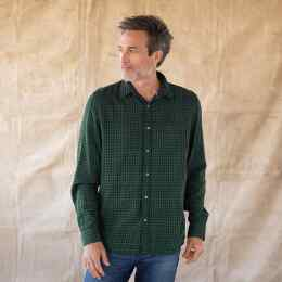 LEROY GREEN PLAID SHIRT