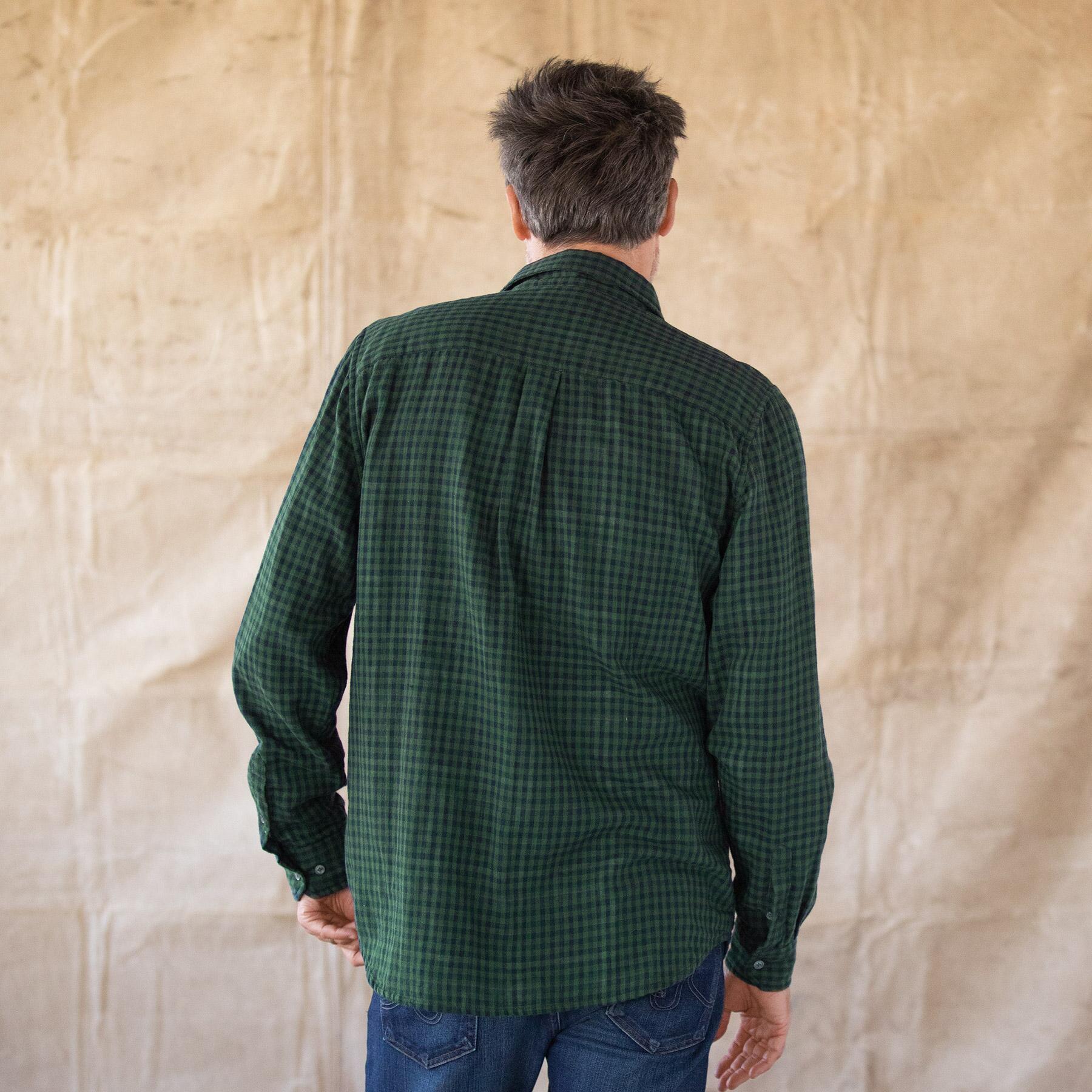 LEROY GREEN PLAID SHIRT: View 2