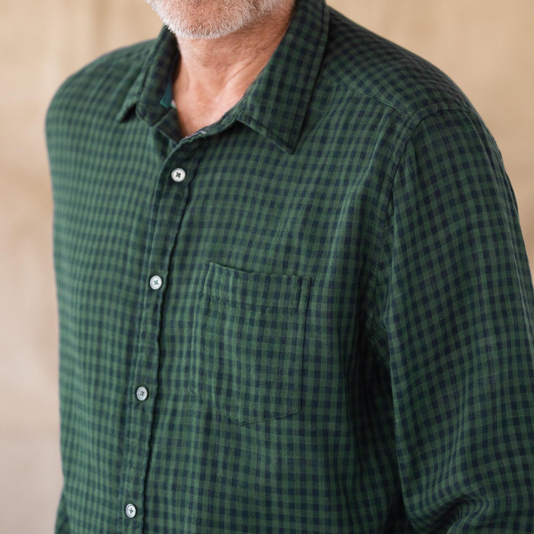 LEROY GREEN PLAID SHIRT: View 3