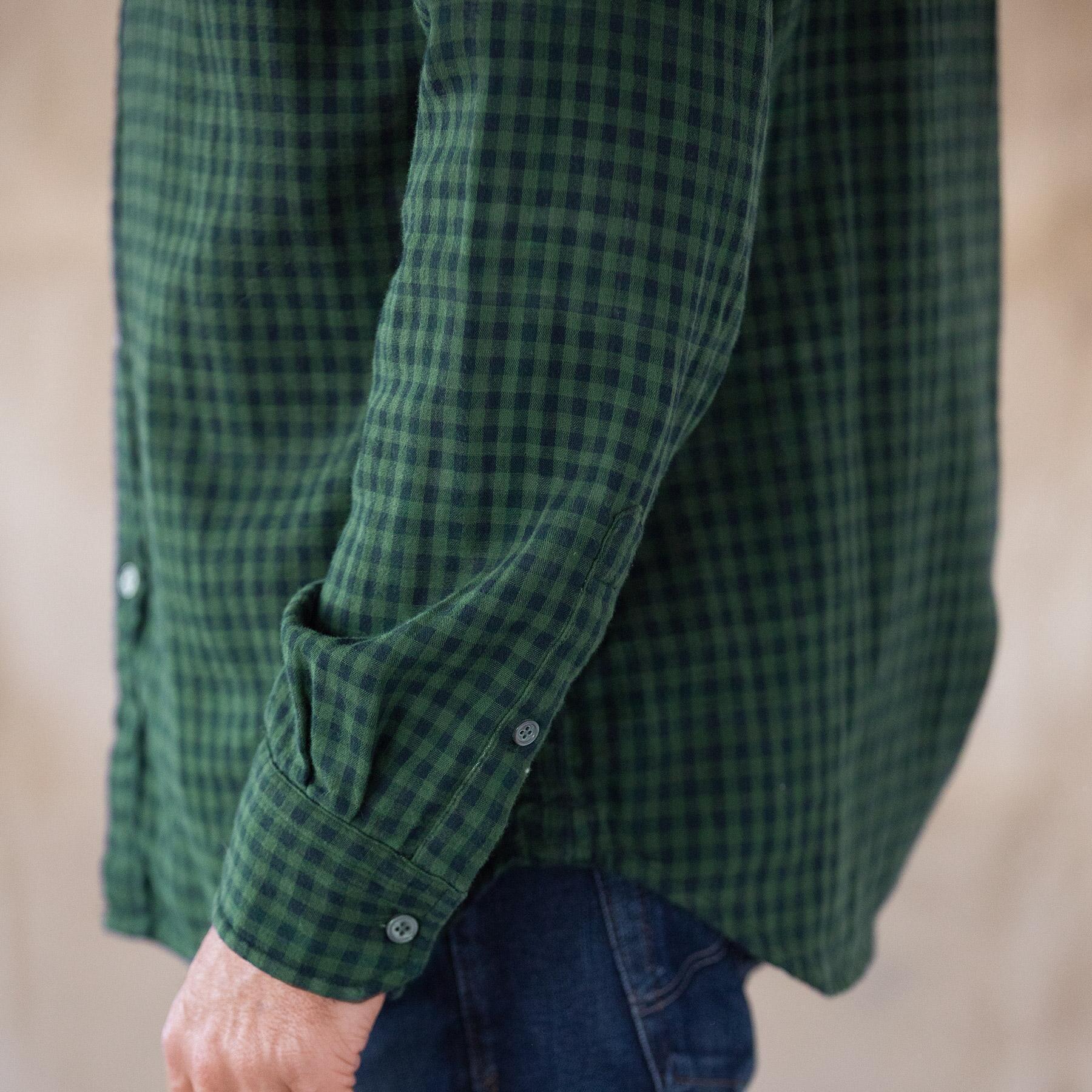 LEROY GREEN PLAID SHIRT: View 4