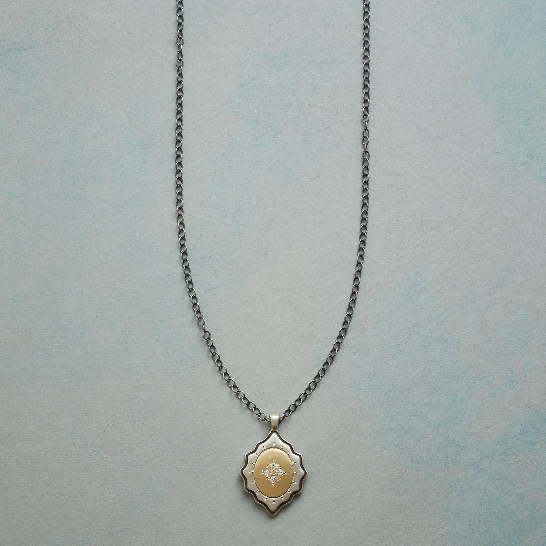 FOUR DIAMONDS NECKLACE: View 1