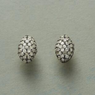 DIAMOND OVALS EARRINGS
