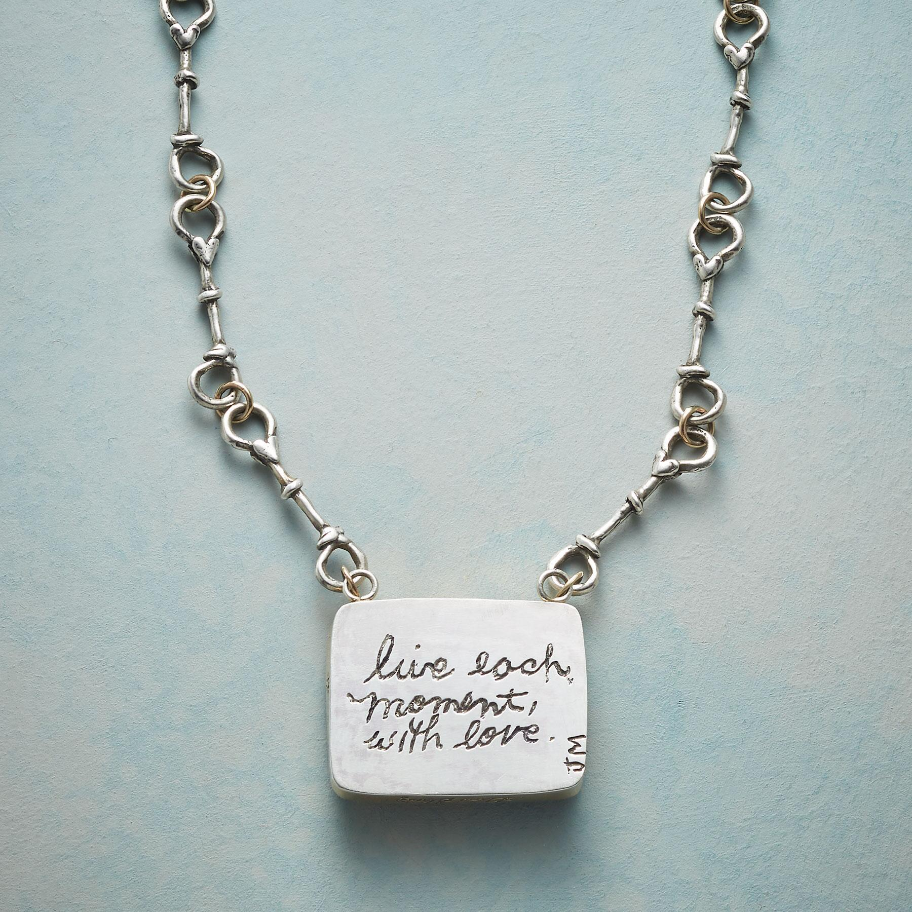 LIVE EACH MOMENT NECKLACE: View 6