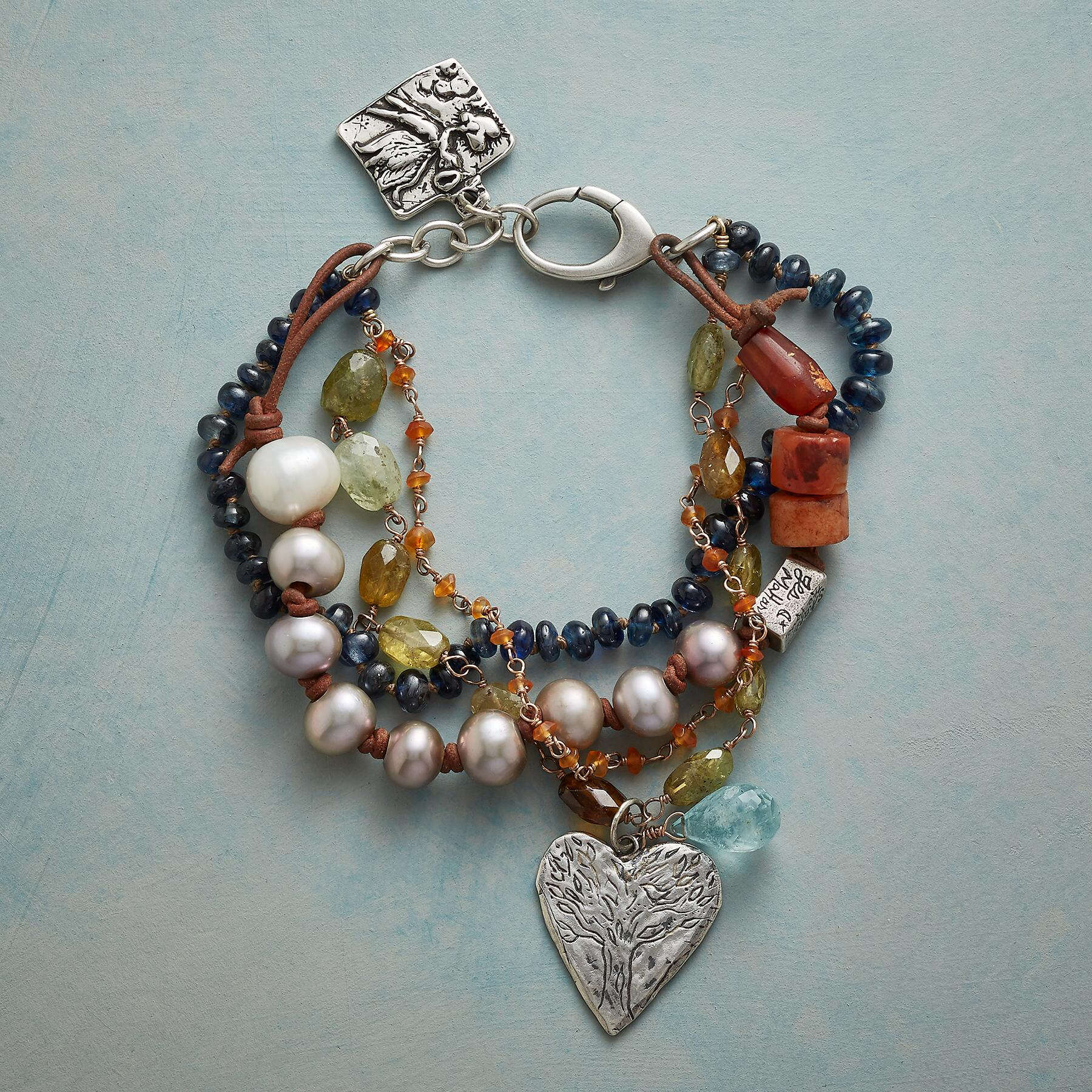 WITH EVERY BREATH BRACELET: View 1