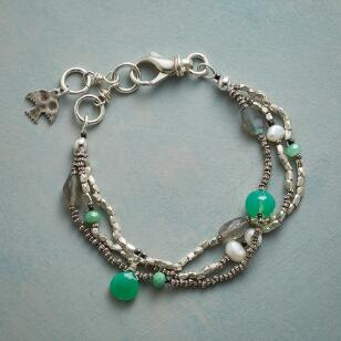 HINTS OF GREEN BRACELET