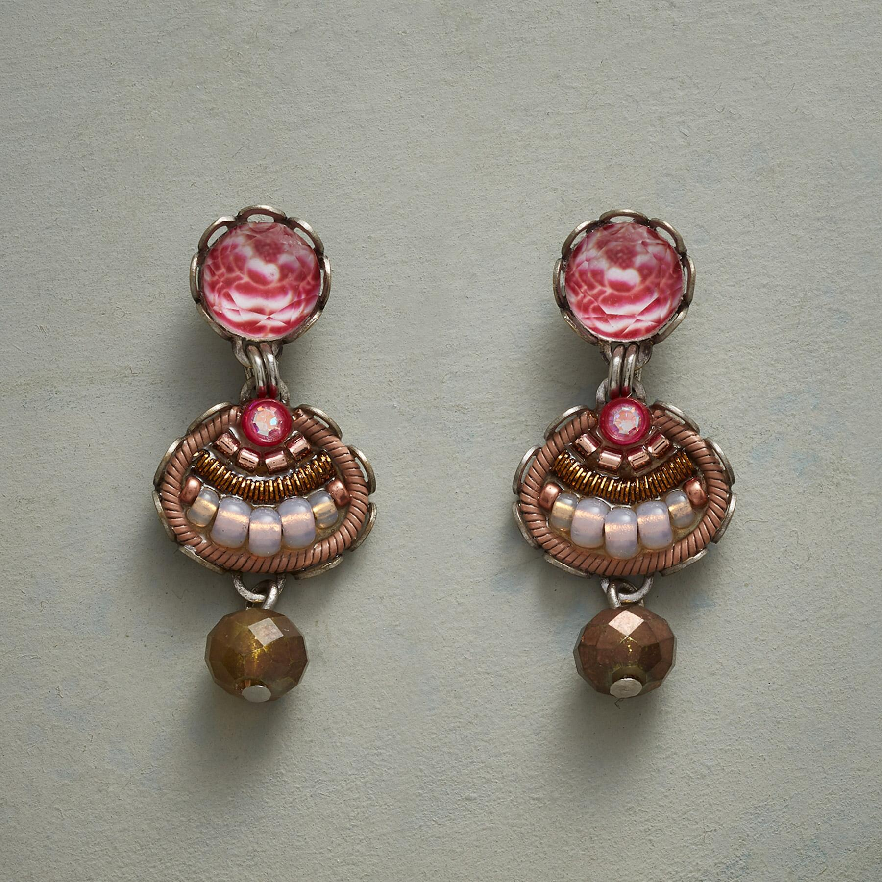 ENGLISH ROSES EARRINGS: View 1