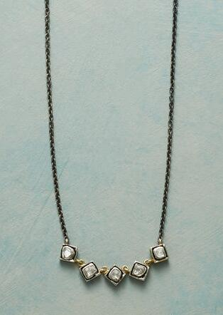 FIVE & COUNTING DIAMOND NECKLACE