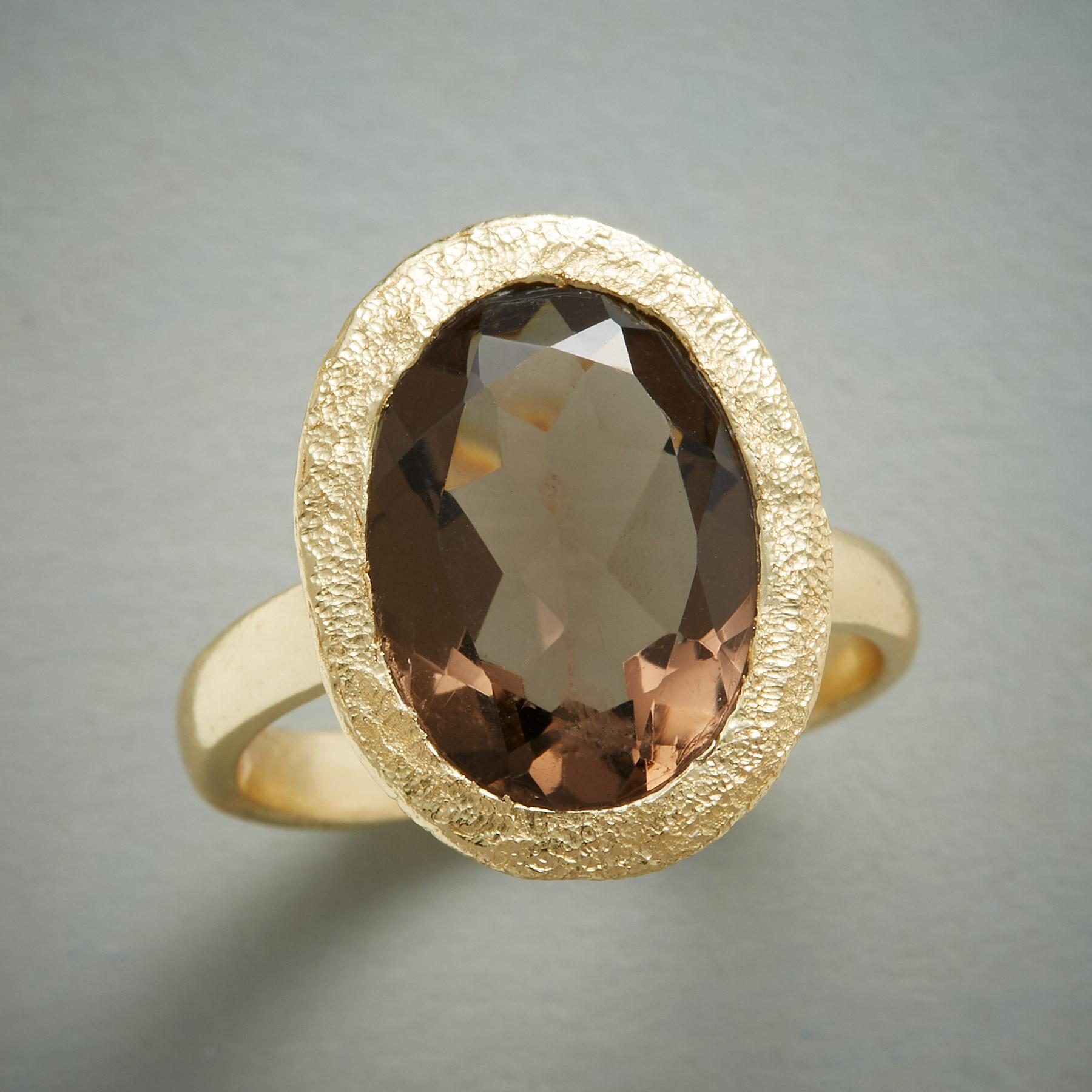 Smoke & Sparkle Ring