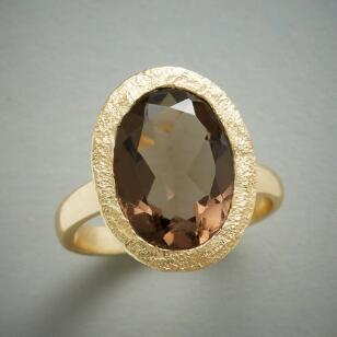 SMOKE & SPARKLE RING