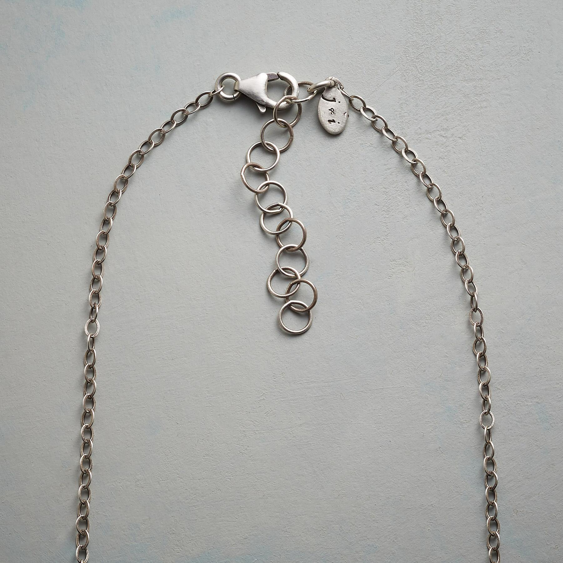ASYMMETRICAL OVALS NECKLACE: View 3
