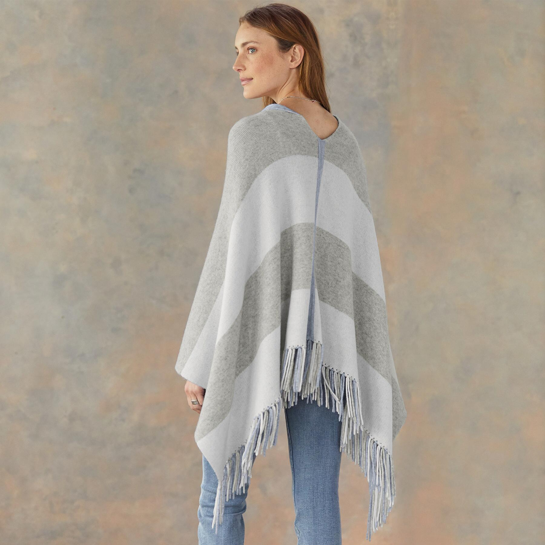 REVERSIBLE PONCHO: View 2