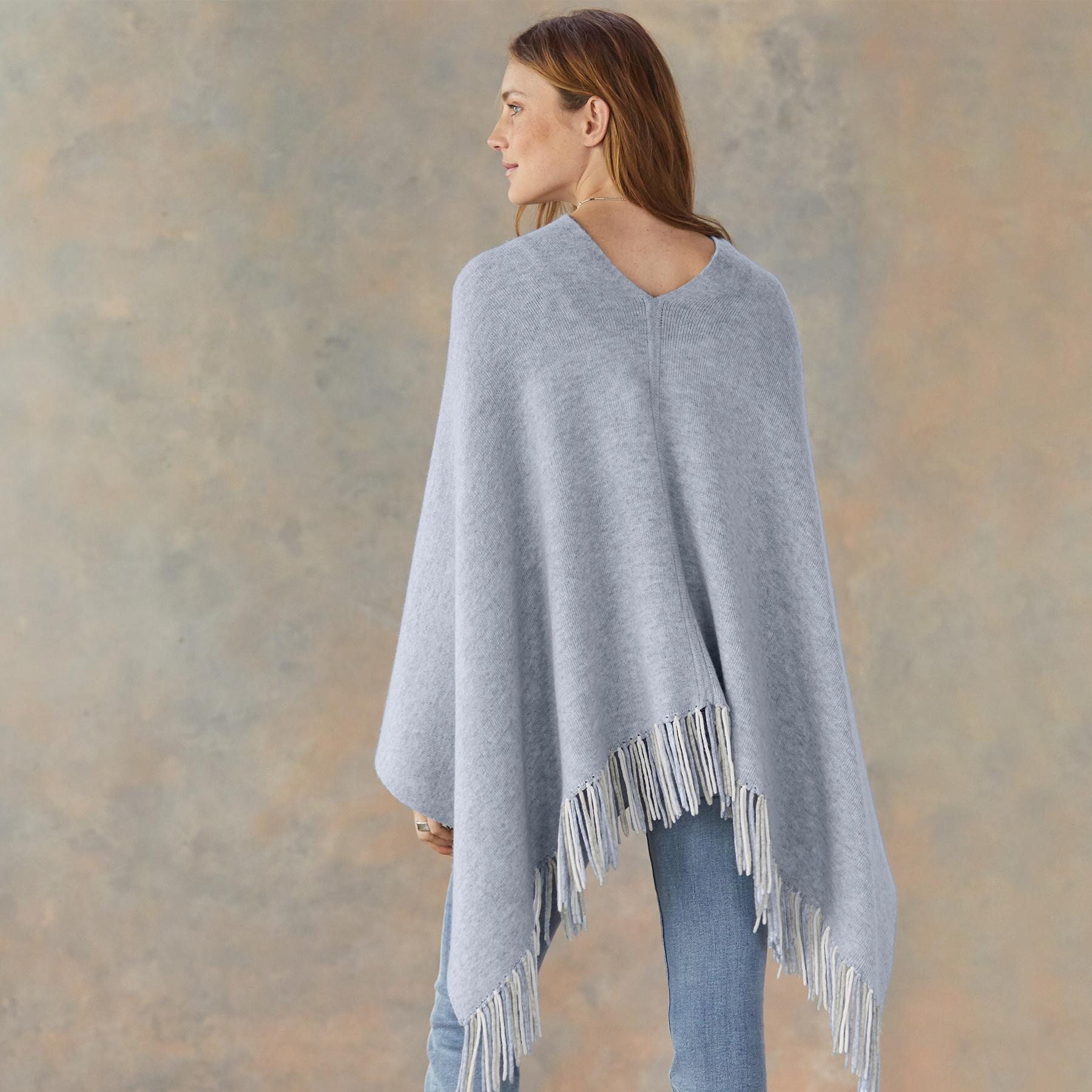 REVERSIBLE PONCHO: View 4