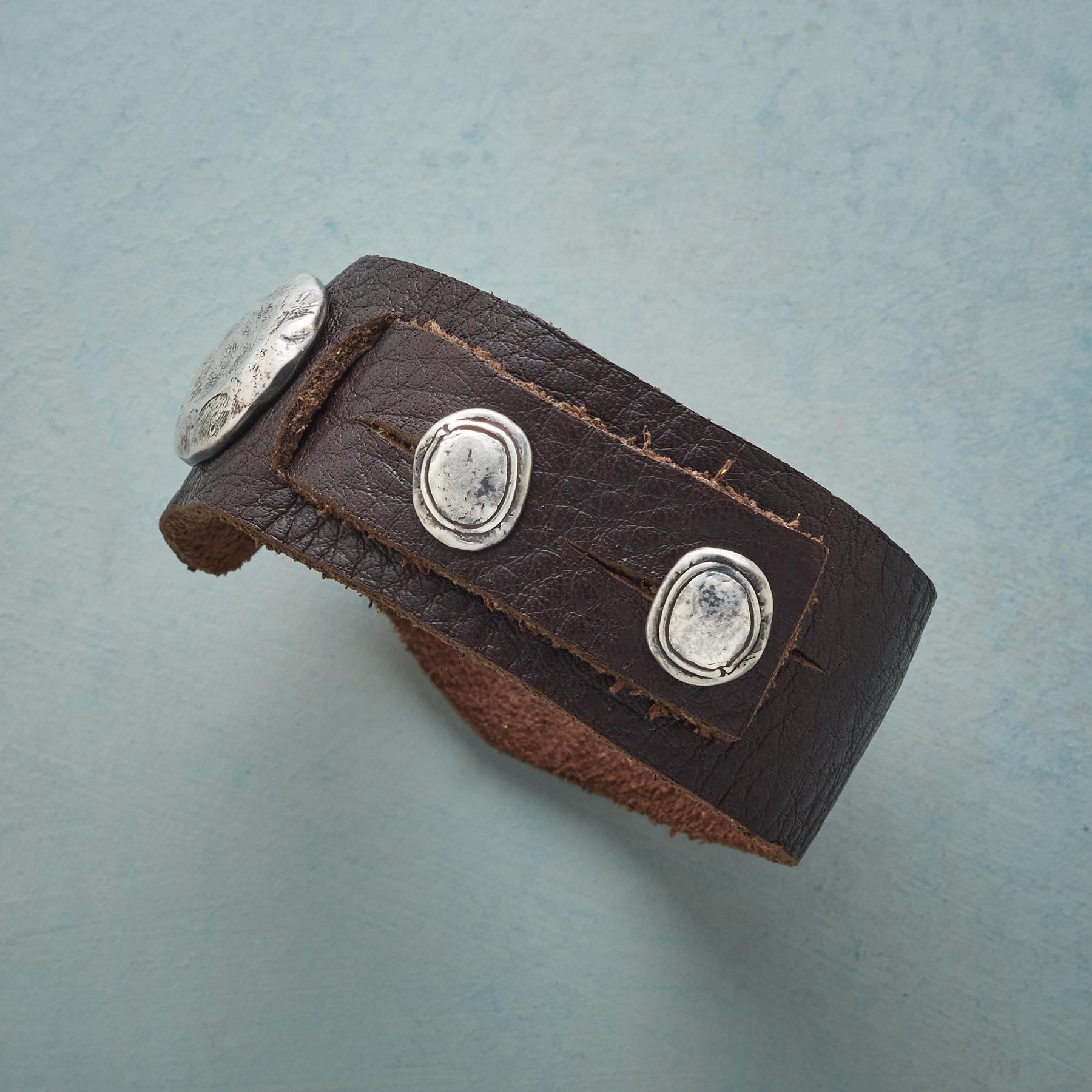 SADDLERY LEATHER BRACELET: View 2