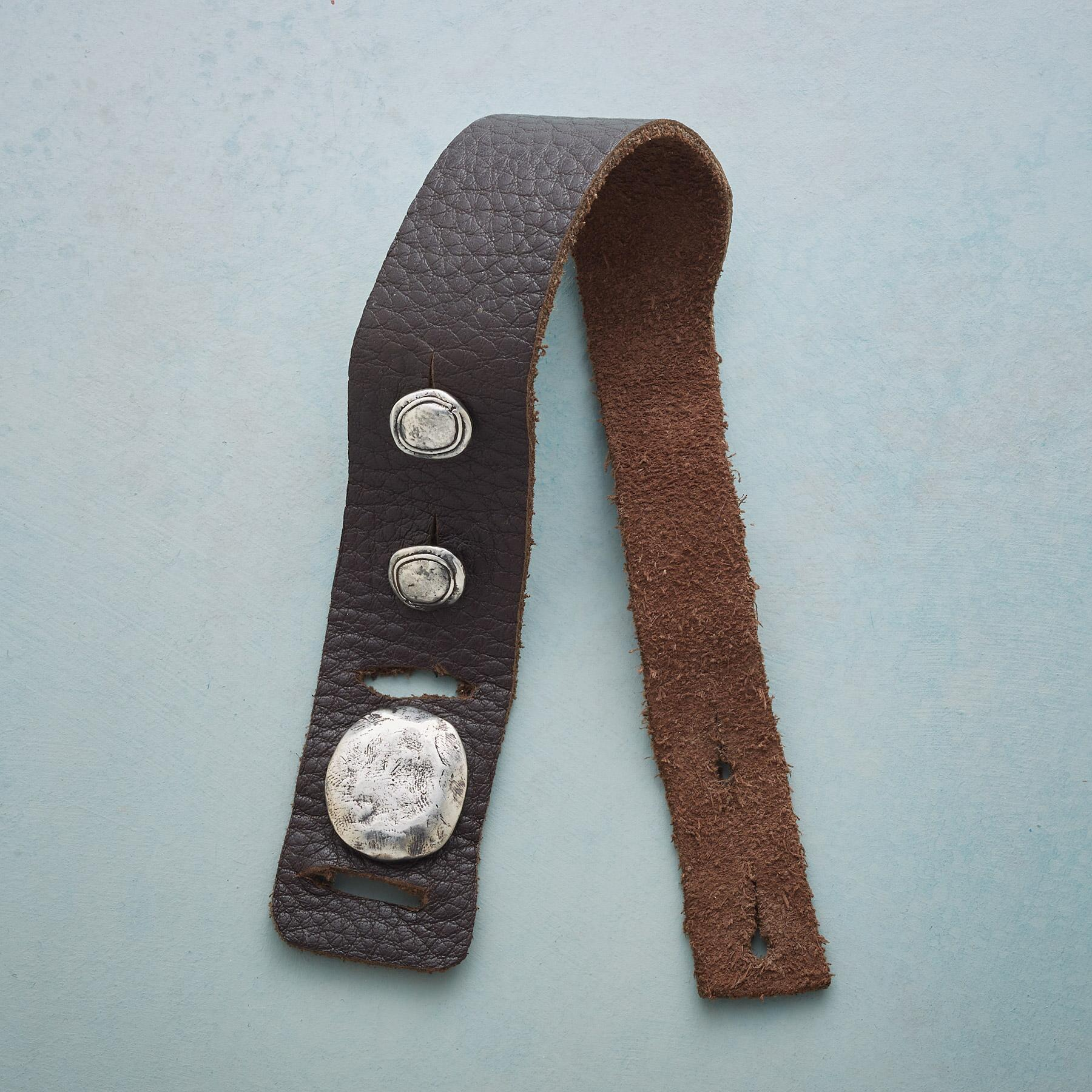 SADDLERY LEATHER BRACELET: View 3