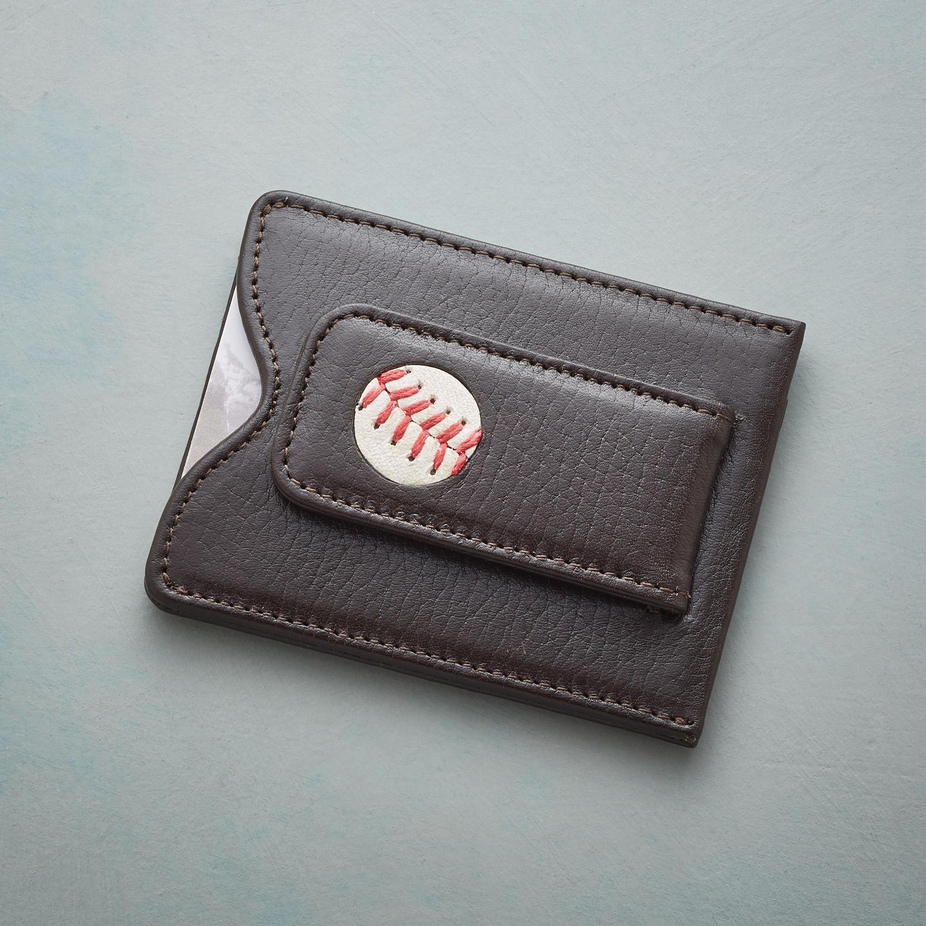 AUTHENTIC BASEBALL MONEY CLIP: View 1