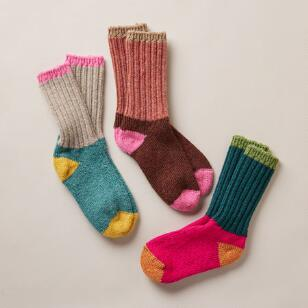 SNOWY DAY SOCKS SET OF 3