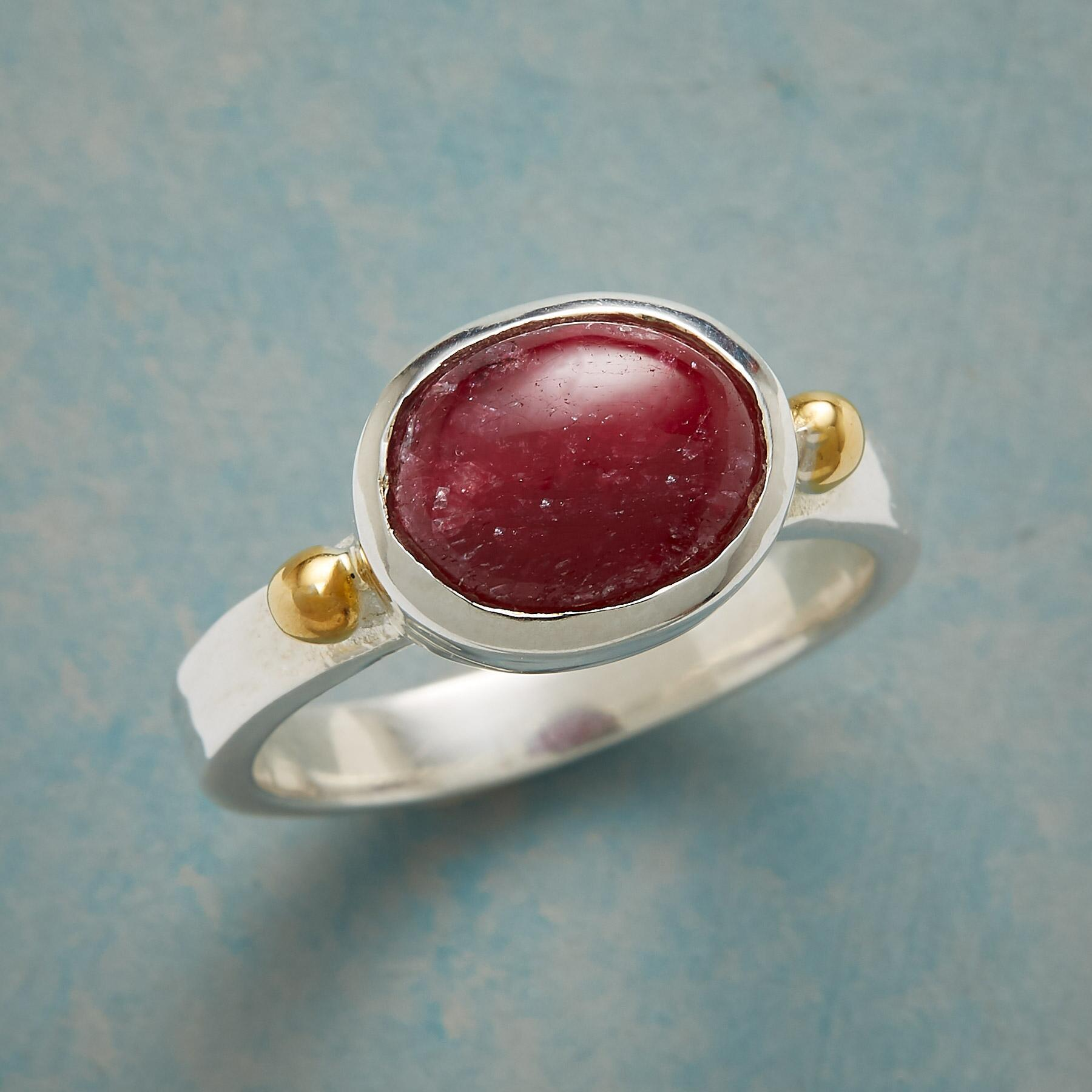 TO THE HEART RUBY RING: View 1
