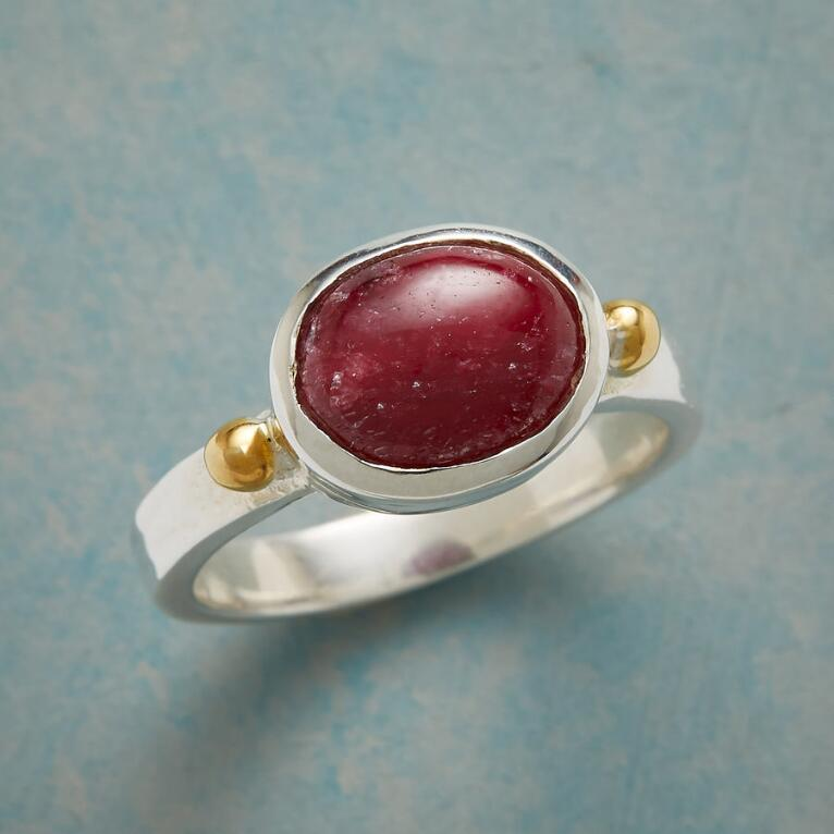 TO THE HEART RUBY RING