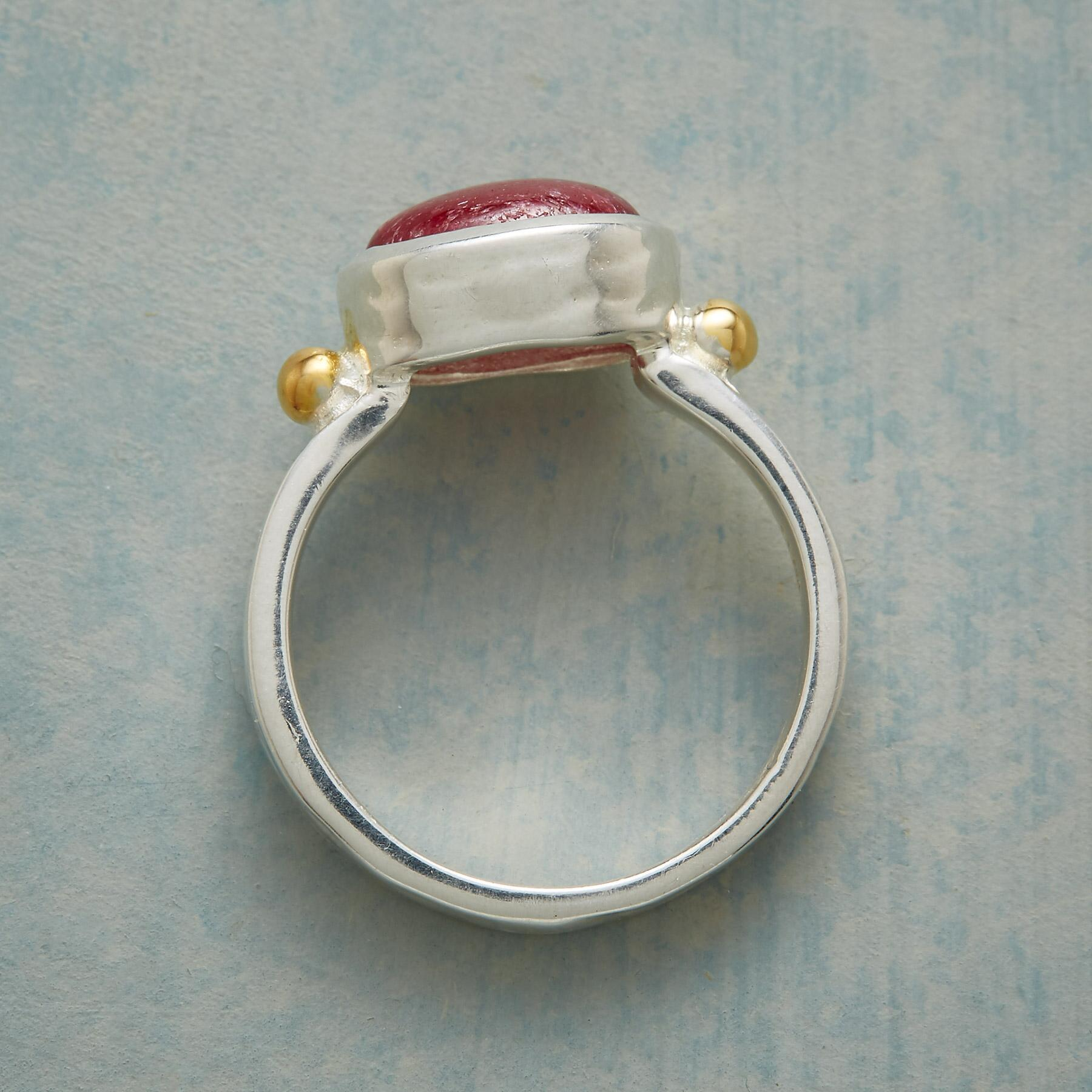 TO THE HEART RUBY RING: View 2