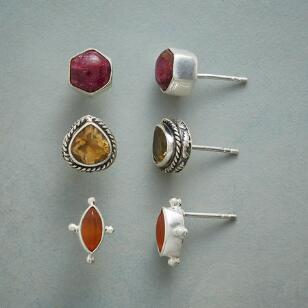 SUNSET HUES EARRING TRIO