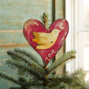 LOVE DOVE TREE TOPPER