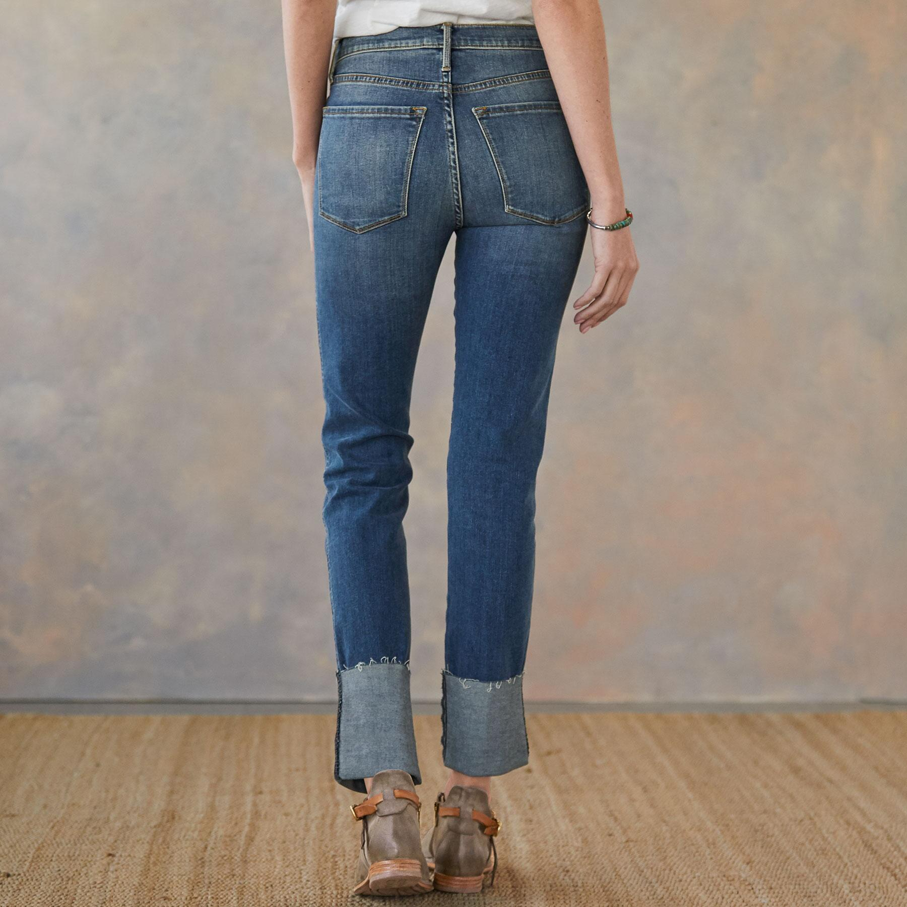 HAILEY AMERICANO CUFFED JEANS: View 2